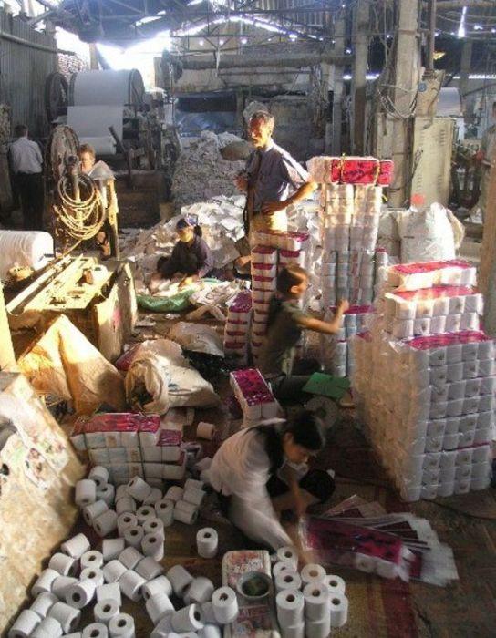 Fábrica de papel higiênico na China 18