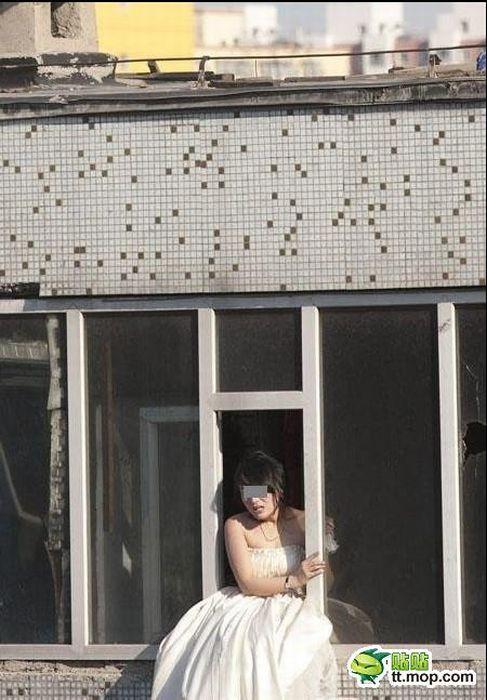 Noiva tenta suicidar-se depois de ser abandonada na porta da igreja 01
