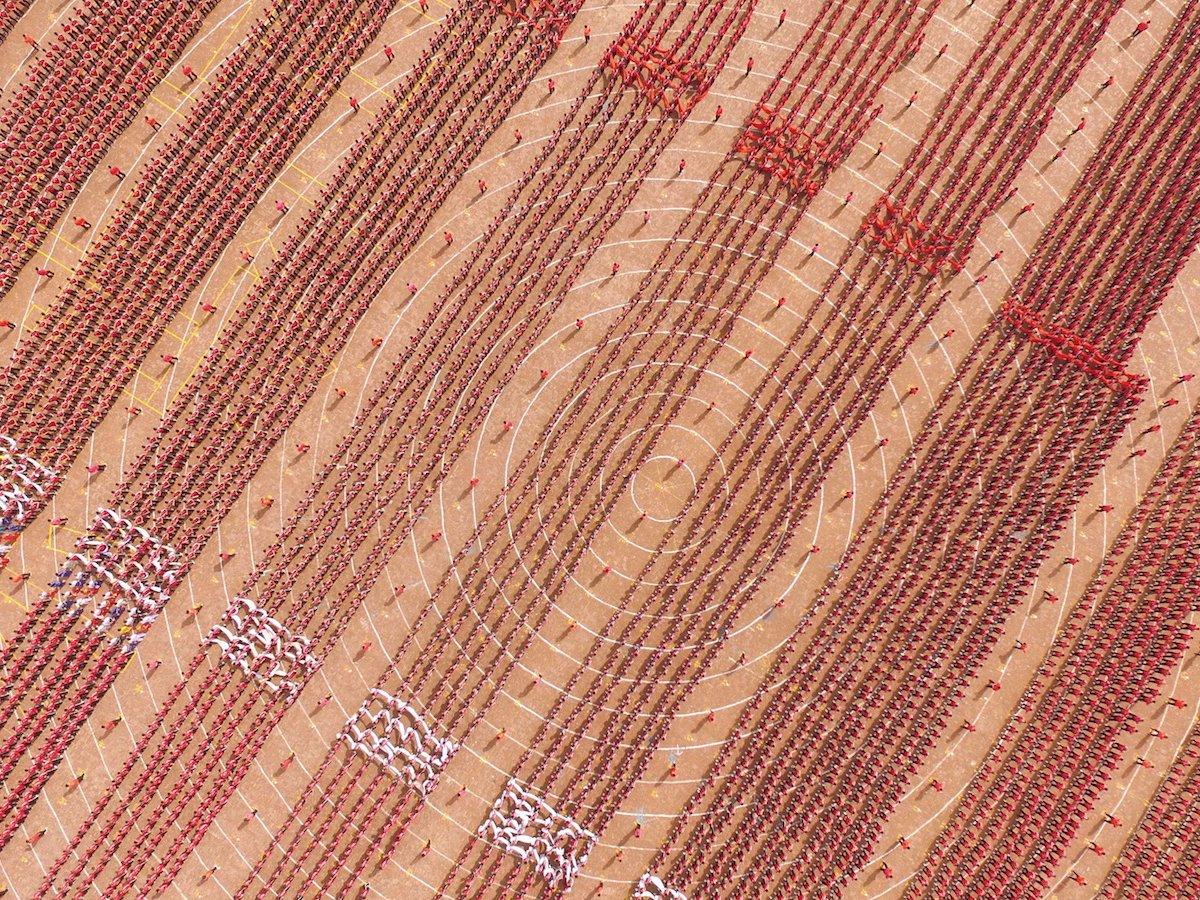 Fotografias aéreas deslumbrantes mostram o quão enorme é a China 03