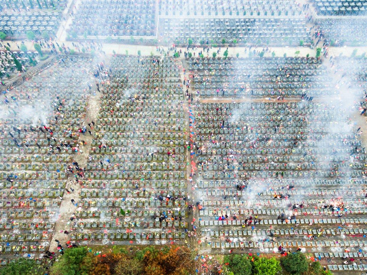 Fotografias aéreas deslumbrantes mostram o quão enorme é a China 04
