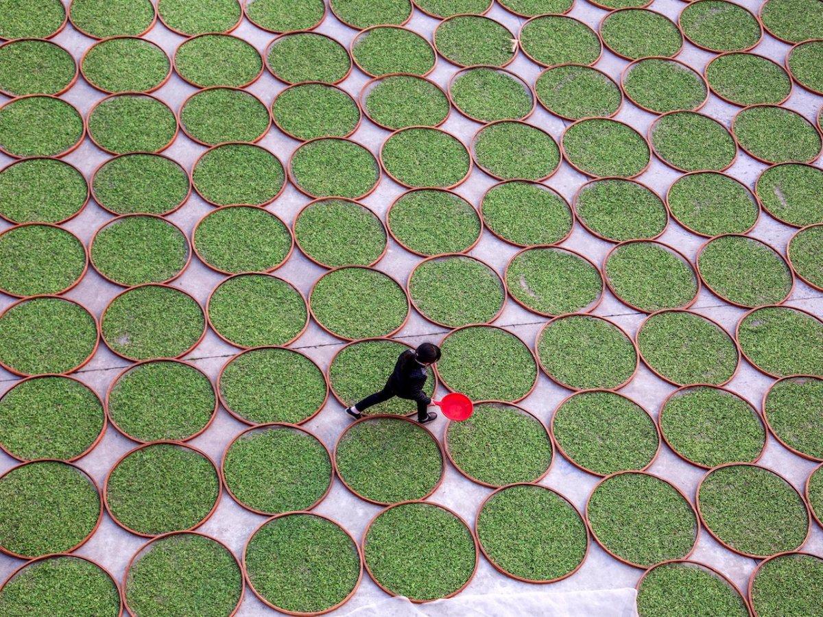 Fotografias aéreas deslumbrantes mostram o quão enorme é a China 07