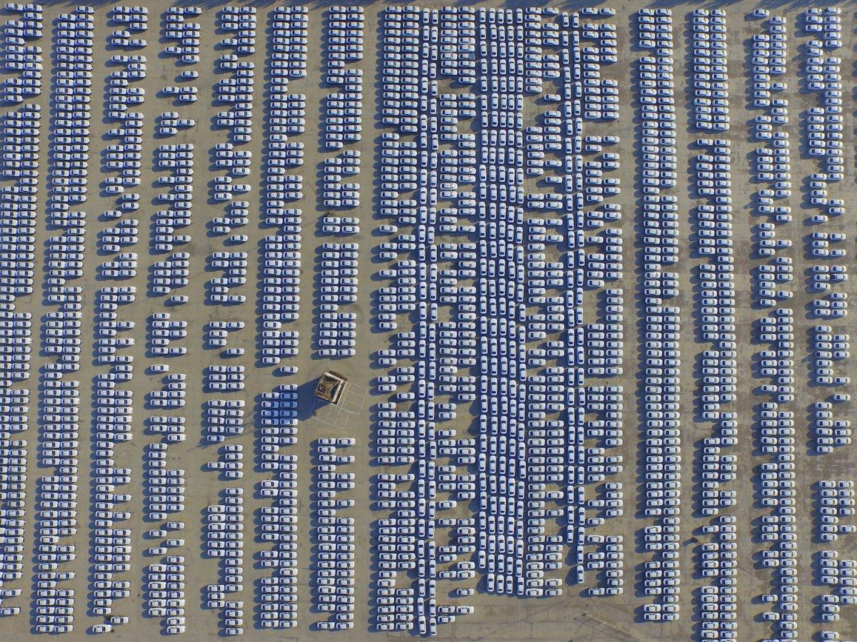 Fotografias aéreas deslumbrantes mostram o quão enorme é a China 11