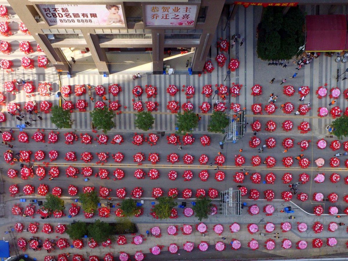 Fotografias aéreas deslumbrantes mostram o quão enorme é a China 12