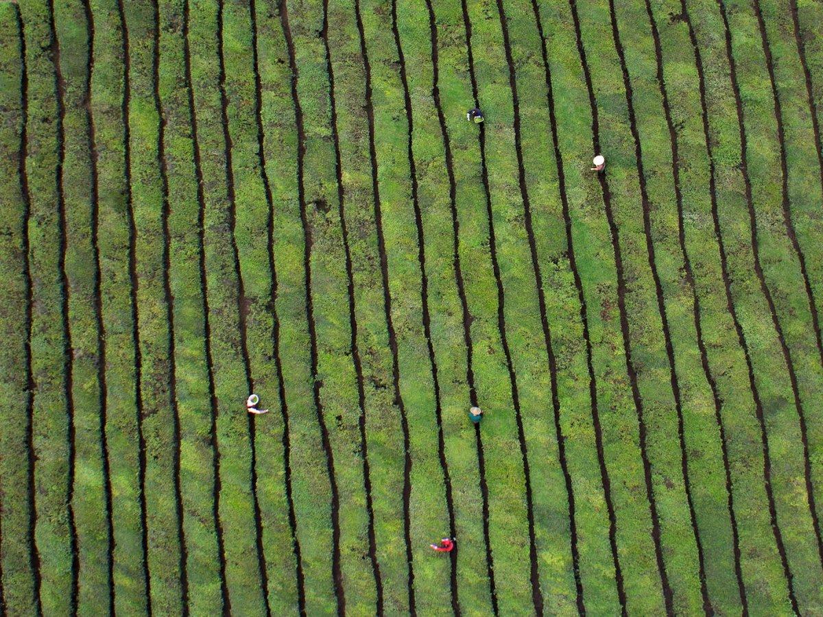 Fotografias aéreas deslumbrantes mostram o quão enorme é a China 13