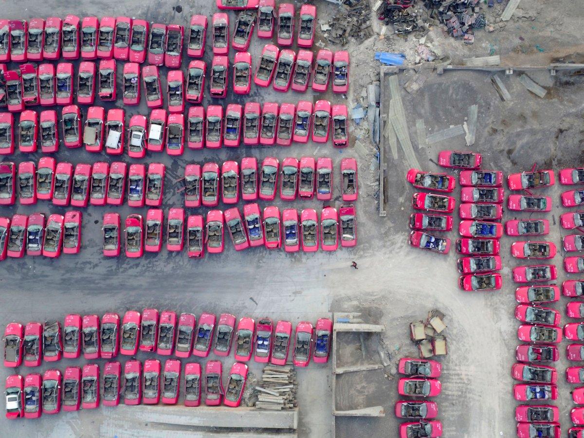 Fotografias aéreas deslumbrantes mostram o quão enorme é a China 14