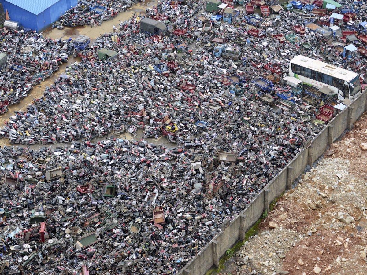 Fotografias aéreas deslumbrantes mostram o quão enorme é a China 15