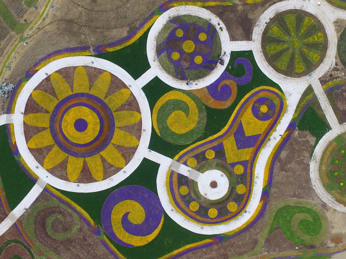 Fotografias aéreas deslumbrantes mostram o quão enorme é a China 17
