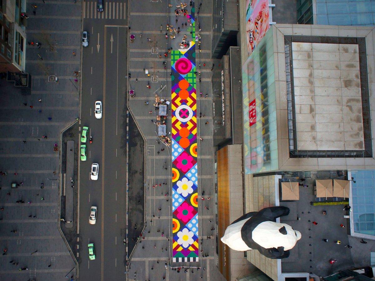 Fotografias aéreas deslumbrantes mostram o quão enorme é a China 18