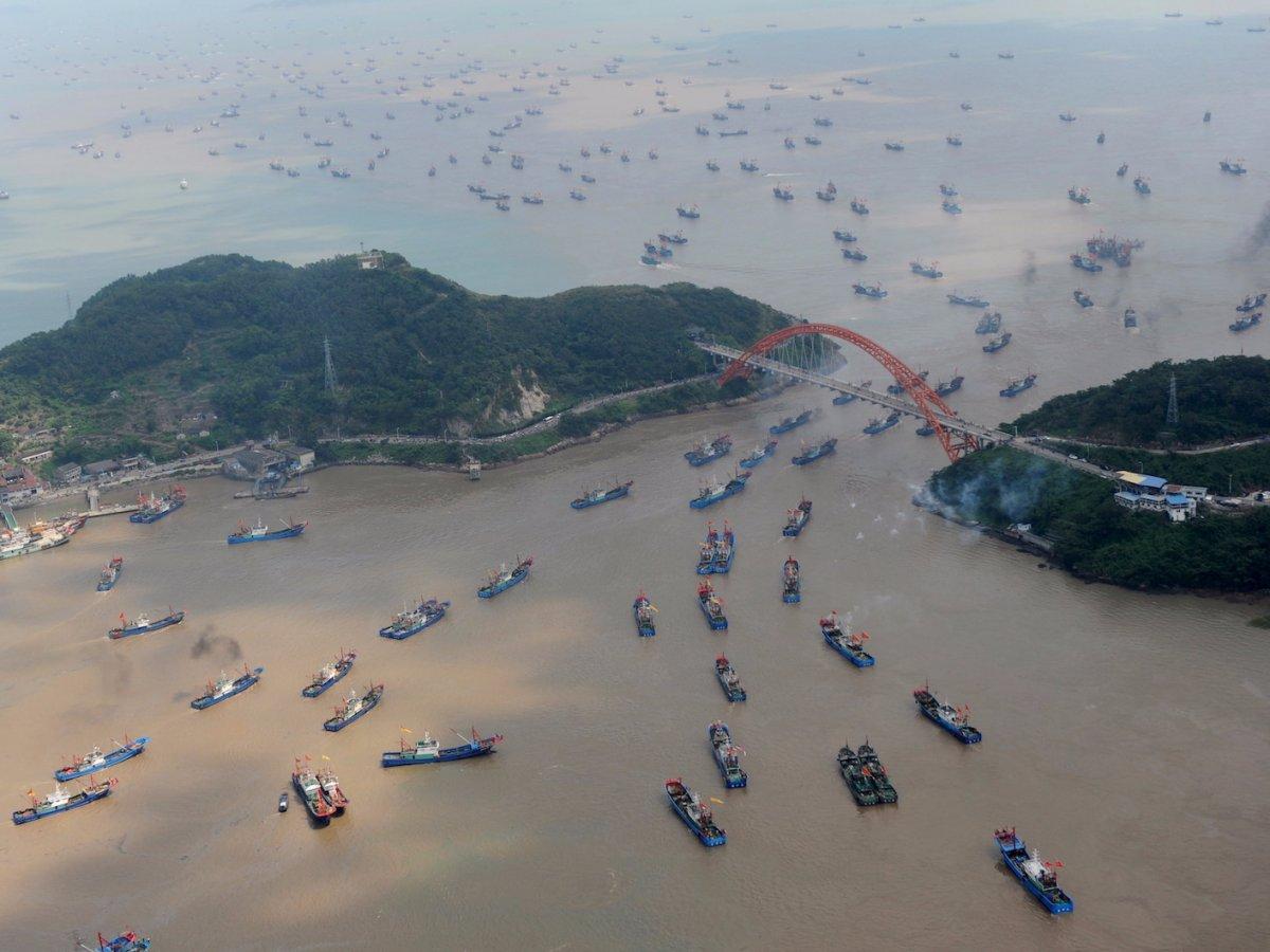 Fotografias aéreas deslumbrantes mostram o quão enorme é a China 20