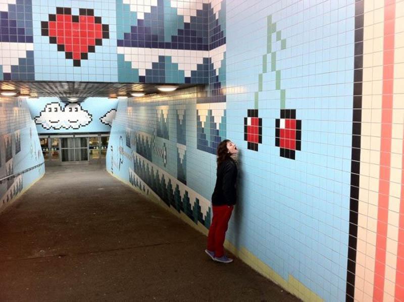 Metrô de Estocolmo: a galeria de arte mais longa do mundo 05