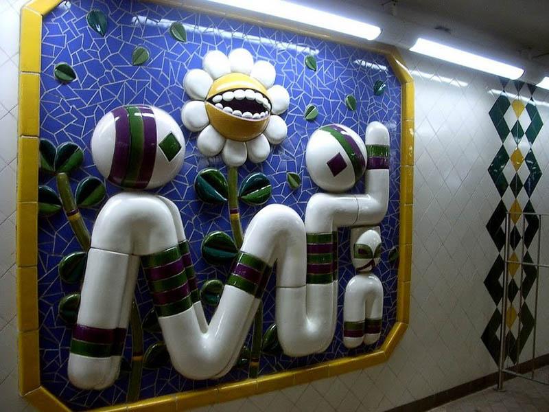 Metrô de Estocolmo: a galeria de arte mais longa do mundo 19