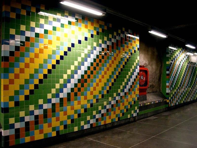 Metrô de Estocolmo: a galeria de arte mais longa do mundo 22
