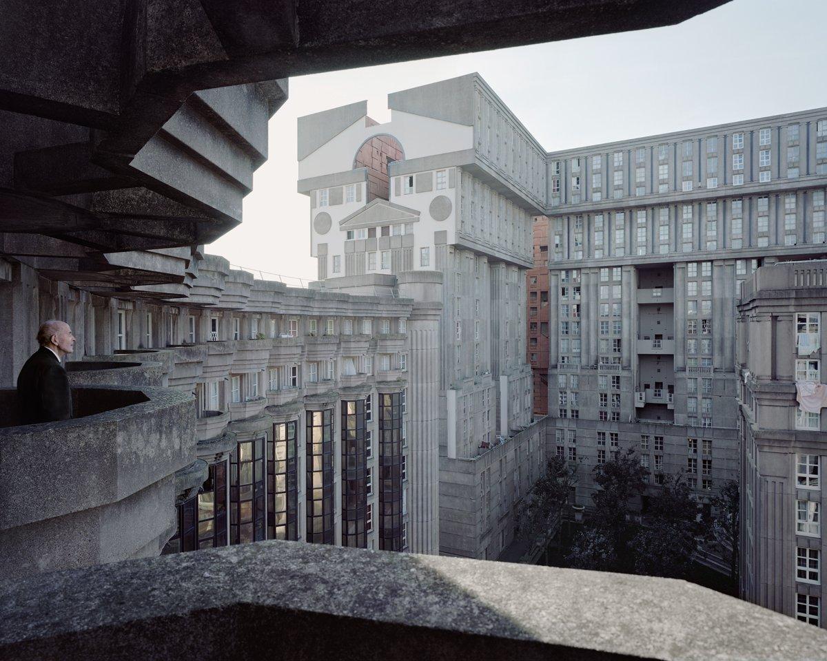 Conjuntos habitacionais esquecidos de Paris documentados por Laurent Kronental 09