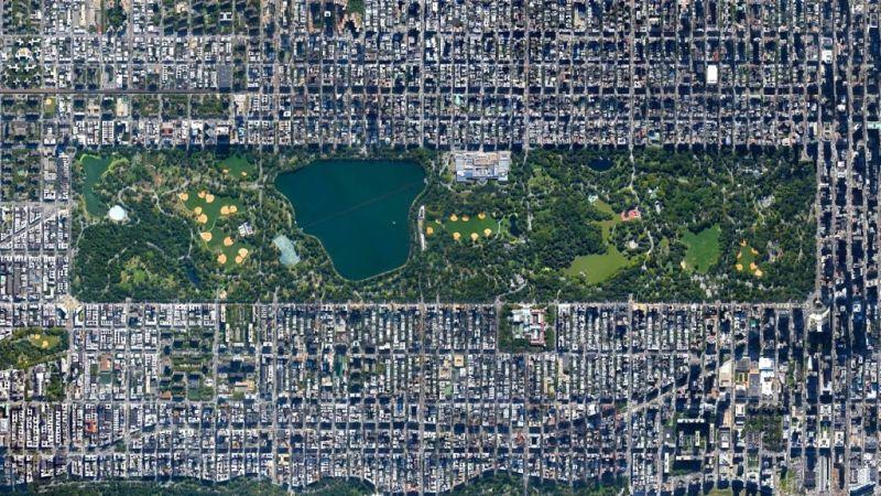 10 surpreendentes cidades planejadas à vista de pássaro