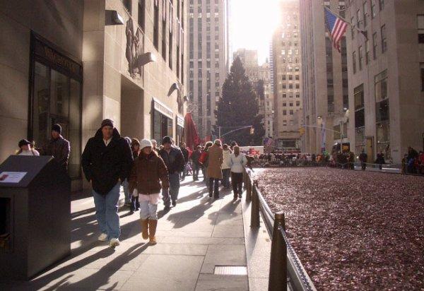 Coleta de centavos em Nova Iorque 07