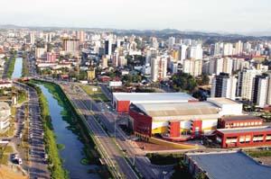 Joinville, a cidade do norte.