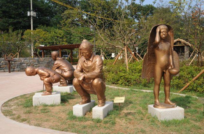 Um parque tem�tico muito estranho na Coreia do Sul 04