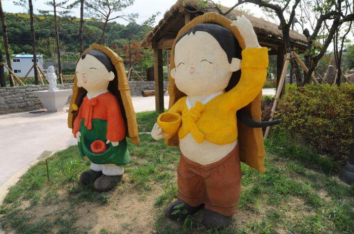 Um parque temático muito estranho na Coreia do Sul 05