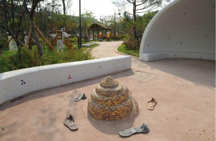 Um parque temático muito estranho na Coreia do Sul 07