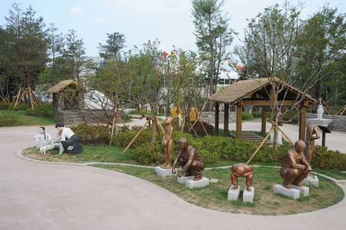 Um parque temático muito estranho na Coreia do Sul 09