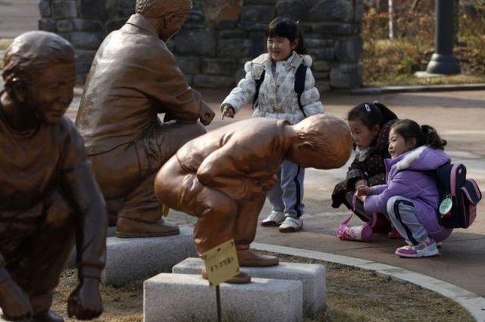 Um parque temático muito estranho na Coreia do Sul 30
