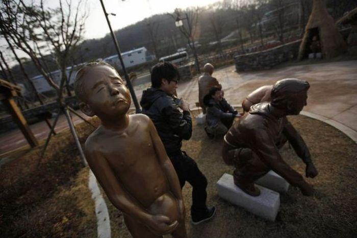 Um parque tem�tico muito estranho na Coreia do Sul 31