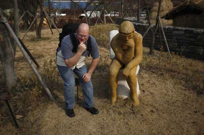 Um parque tem�tico muito estranho na Coreia do Sul 32