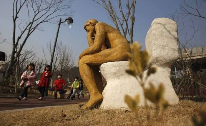 Um parque tem�tico muito estranho na Coreia do Sul 33