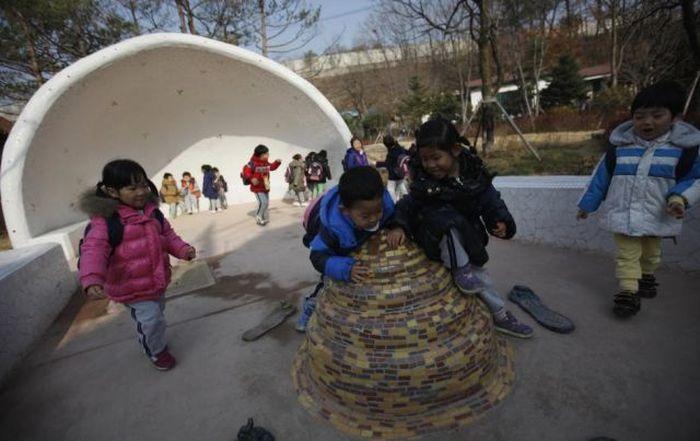 Um parque tem�tico muito estranho na Coreia do Sul 40