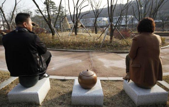 Um parque tem�tico muito estranho na Coreia do Sul 41
