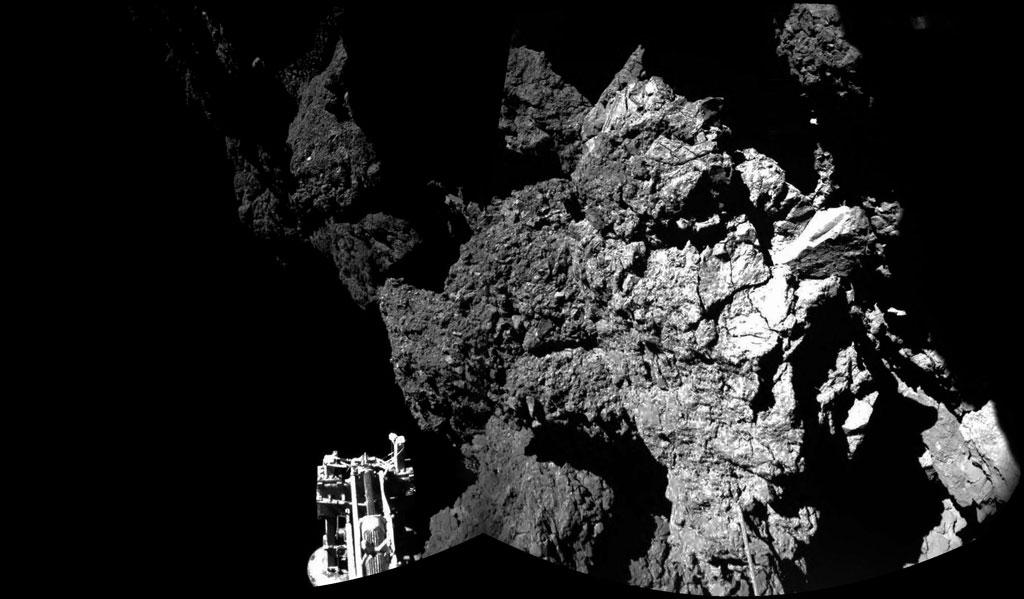 Rosseta: a primeira aterrissagem de uma m�quina humana sobre um cometa 01