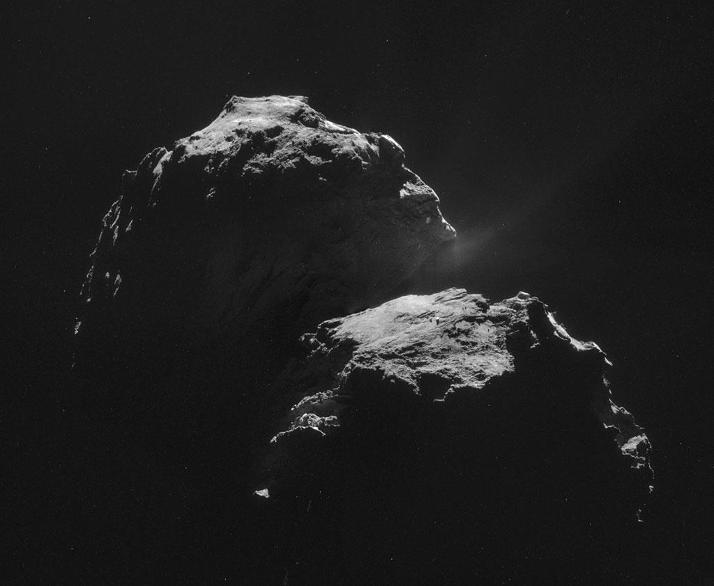 Rosseta: a primeira aterrissagem de uma máquina humana sobre um cometa 02
