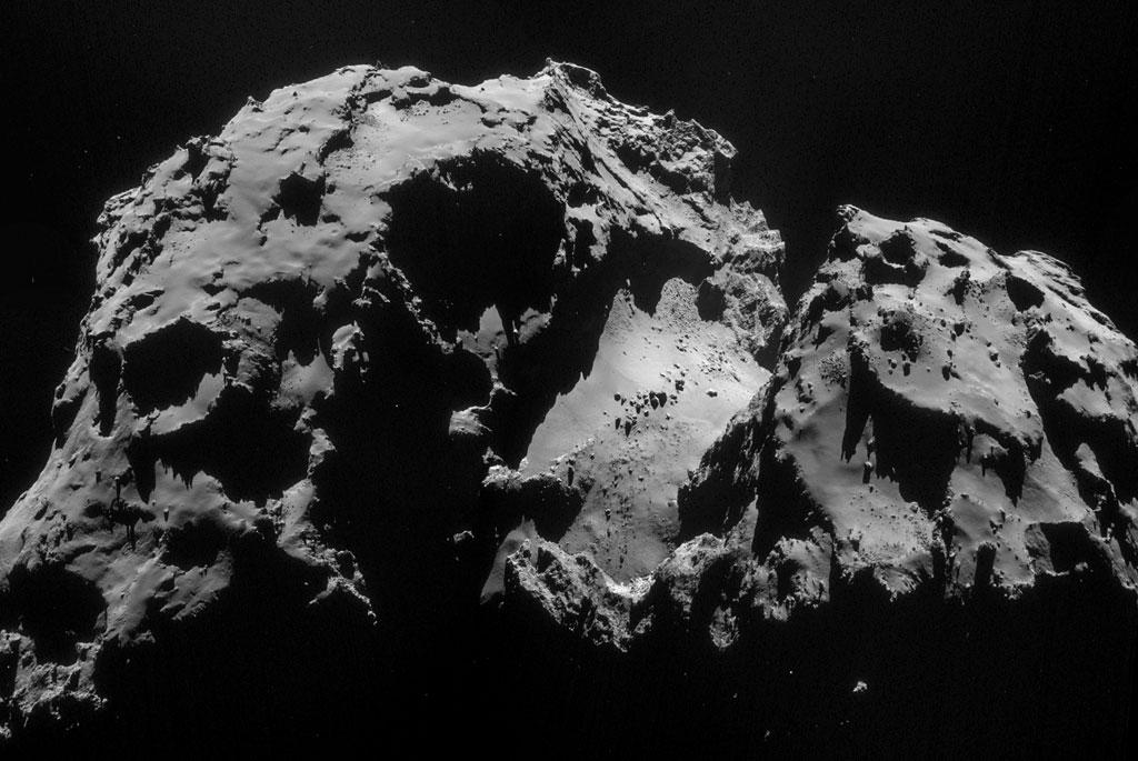 Rosseta: a primeira aterrissagem de uma m�quina humana sobre um cometa 03
