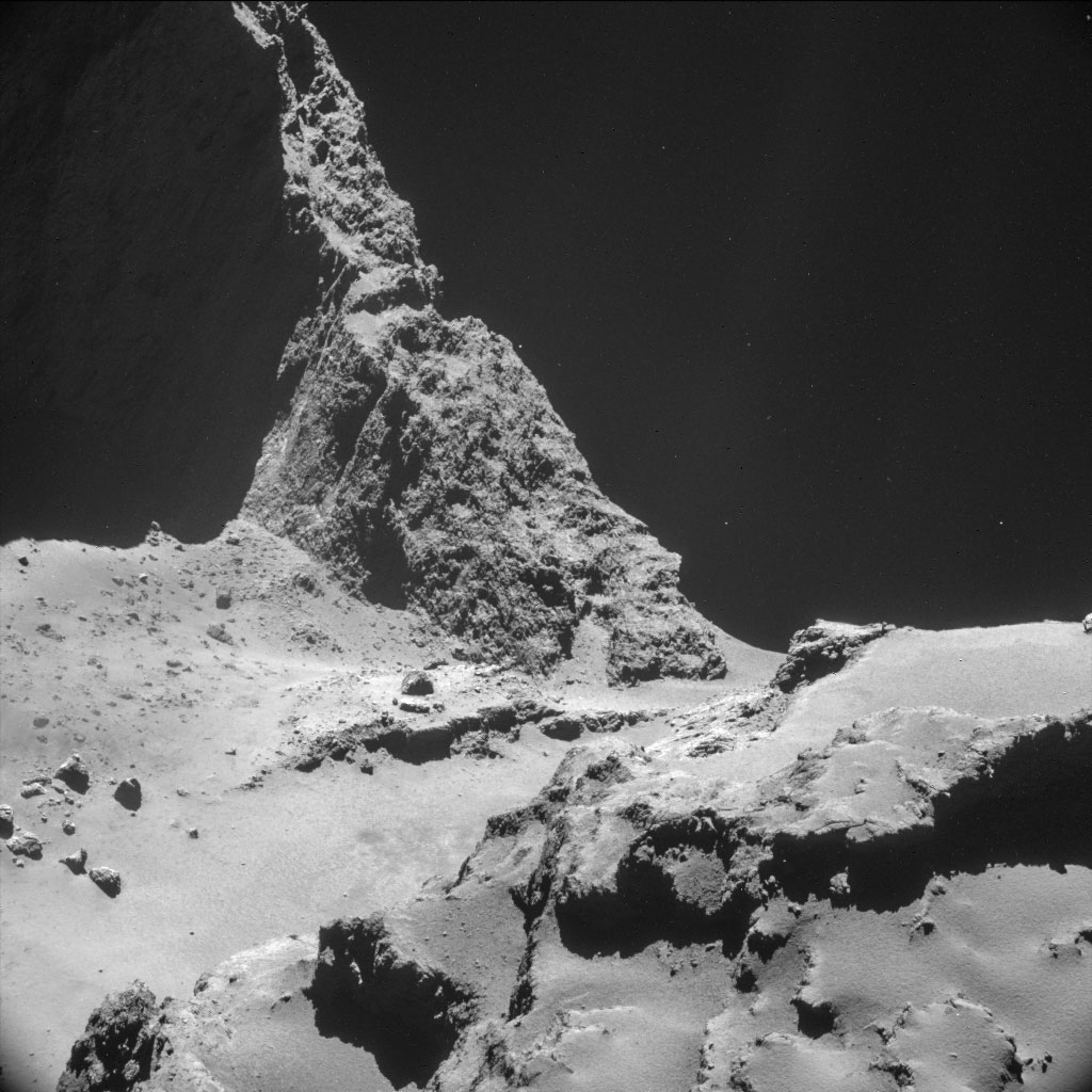 Rosseta: a primeira aterrissagem de uma m�quina humana sobre um cometa 04