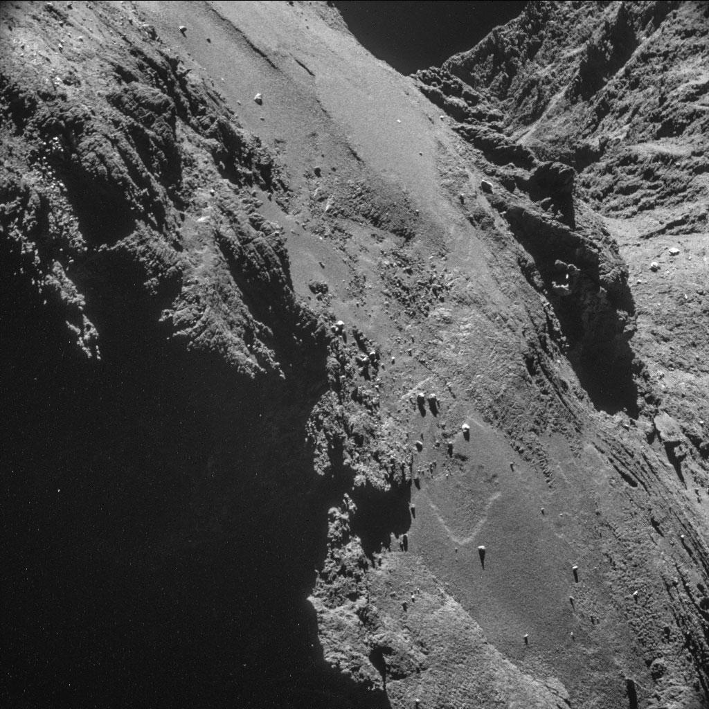 Rosseta: a primeira aterrissagem de uma máquina humana sobre um cometa 05