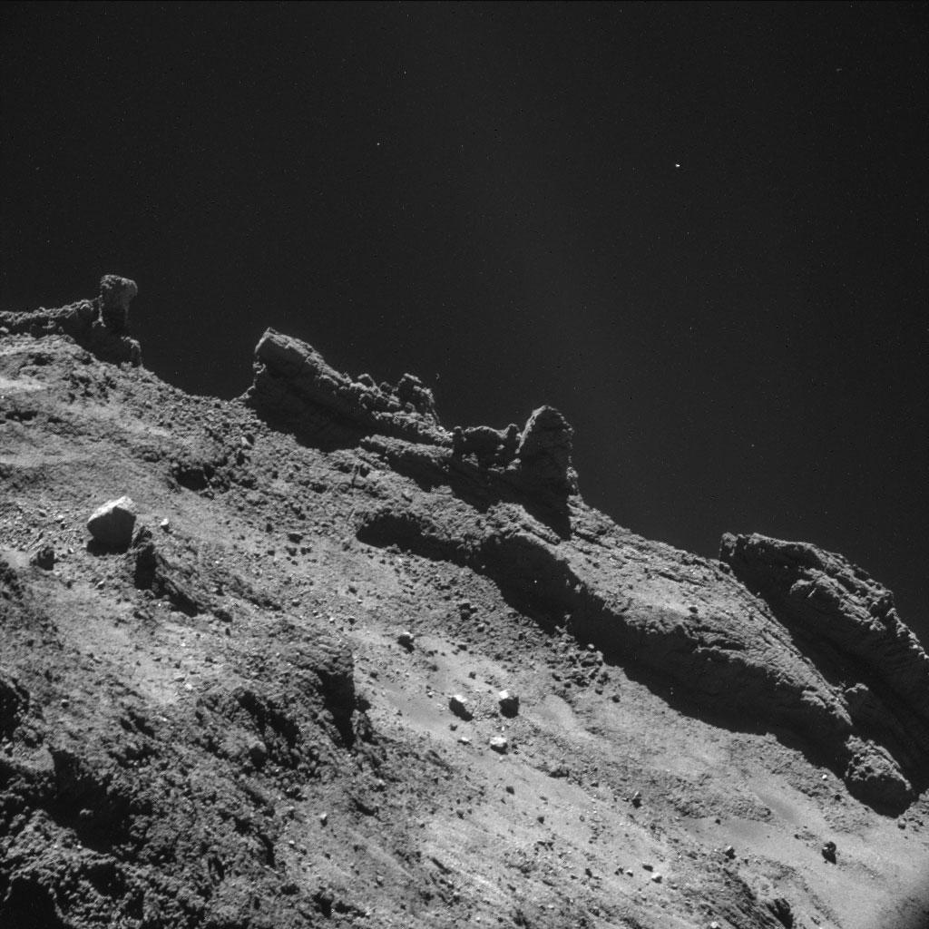 Rosseta: a primeira aterrissagem de uma máquina humana sobre um cometa 06
