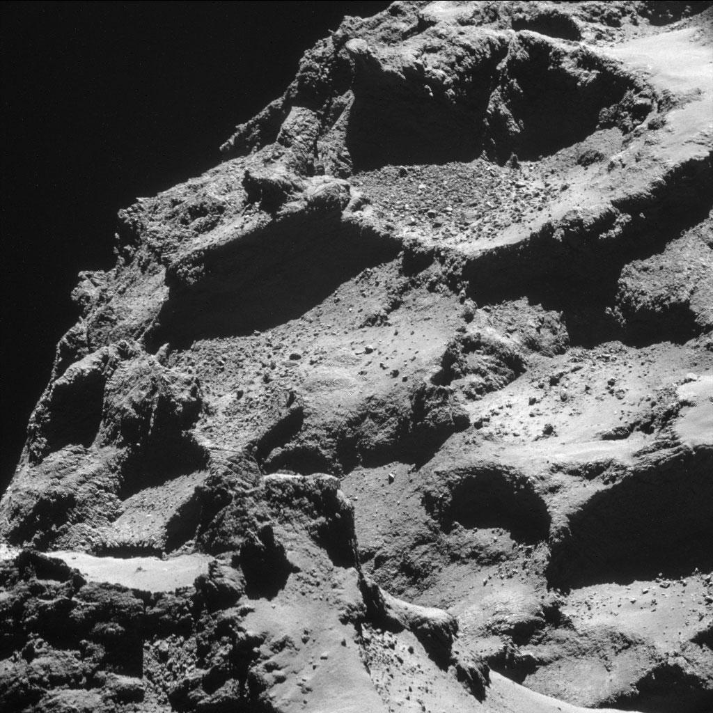 Rosseta: a primeira aterrissagem de uma m�quina humana sobre um cometa 07