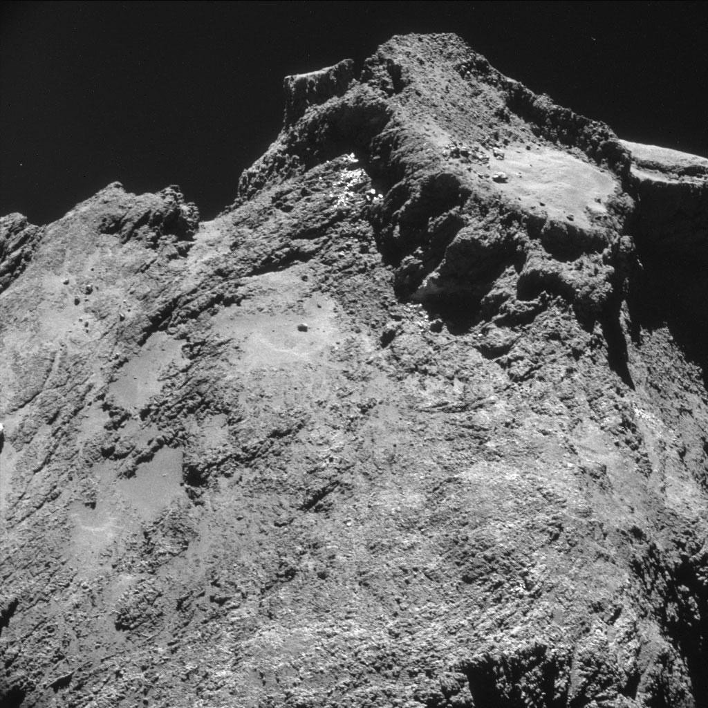 Rosseta: a primeira aterrissagem de uma máquina humana sobre um cometa 08