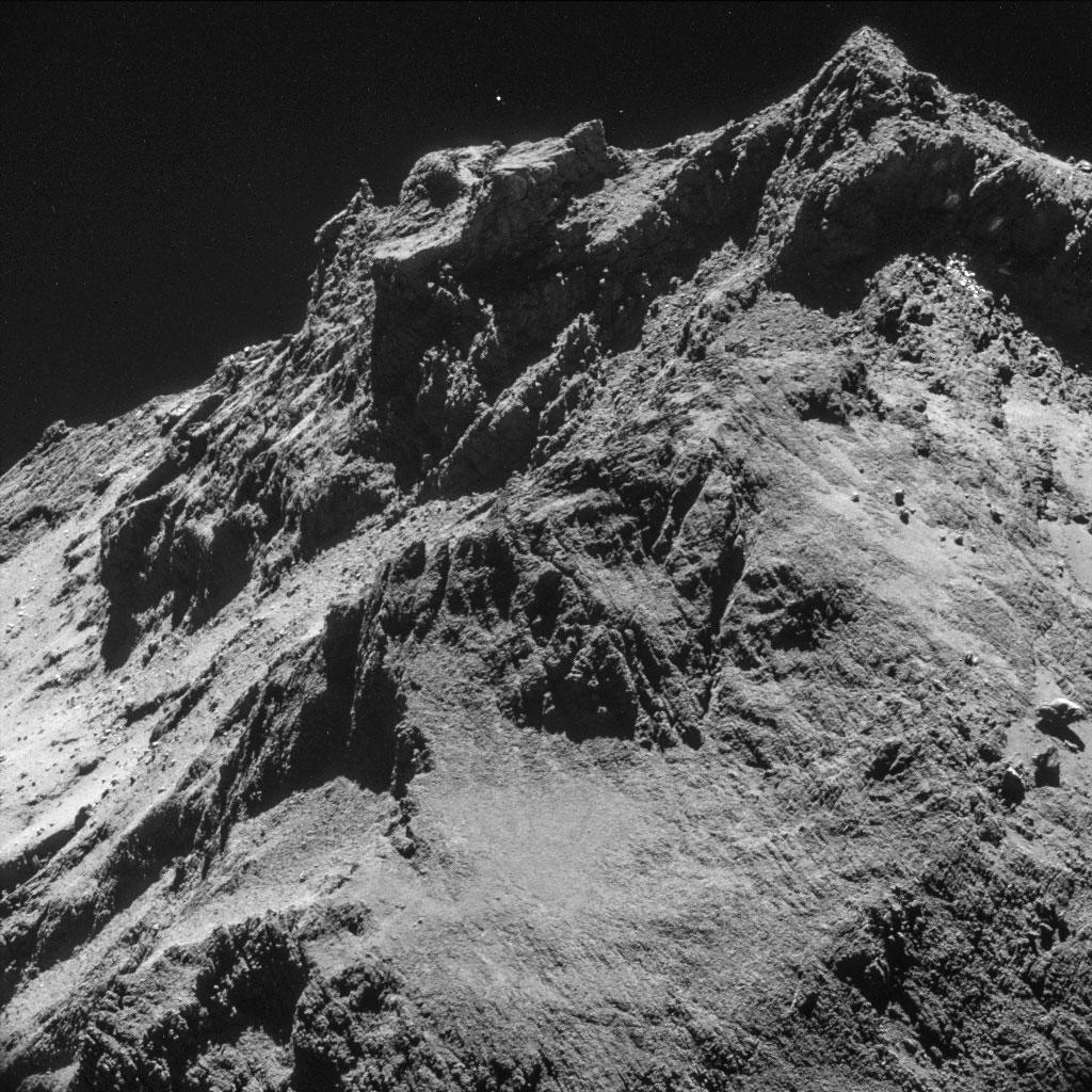 Rosseta: a primeira aterrissagem de uma máquina humana sobre um cometa 09