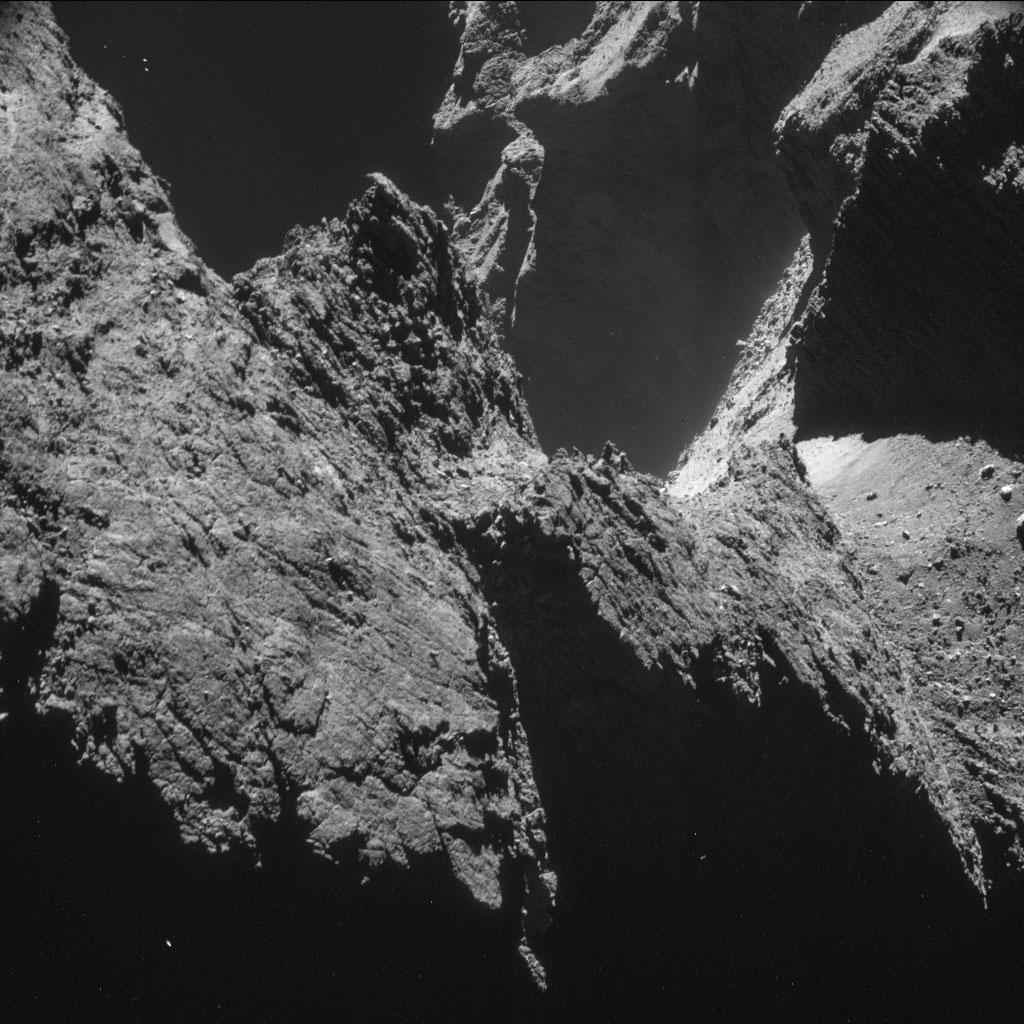 Rosseta: a primeira aterrissagem de uma máquina humana sobre um cometa 10