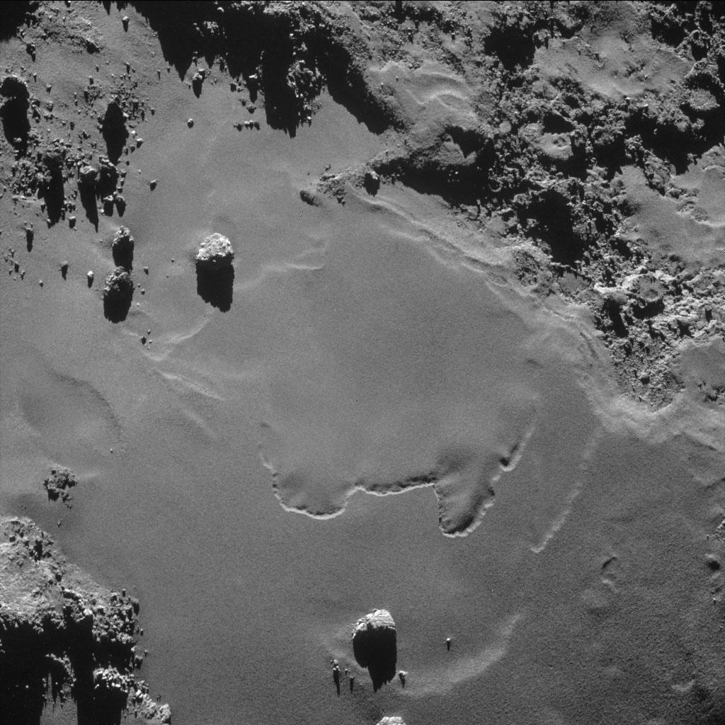 Rosseta: a primeira aterrissagem de uma máquina humana sobre um cometa 11
