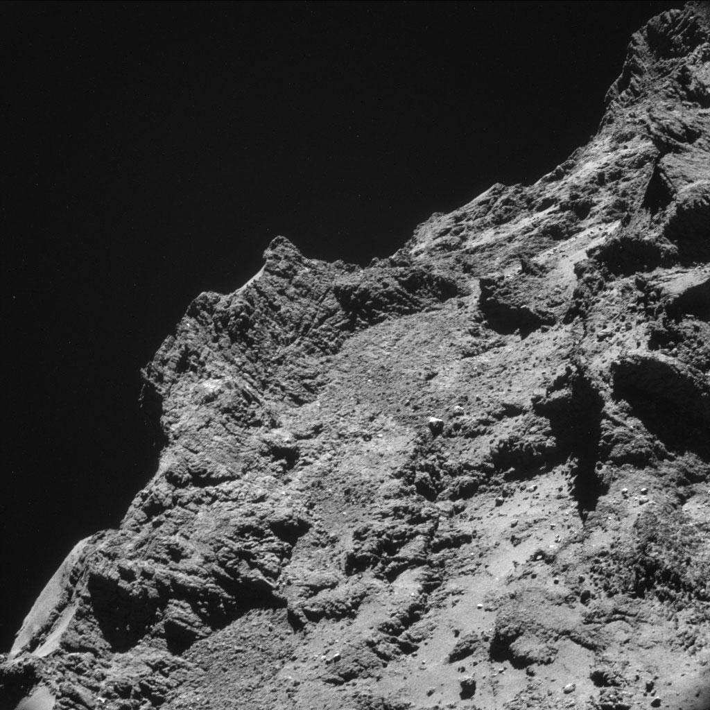 Rosseta: a primeira aterrissagem de uma máquina humana sobre um cometa 12