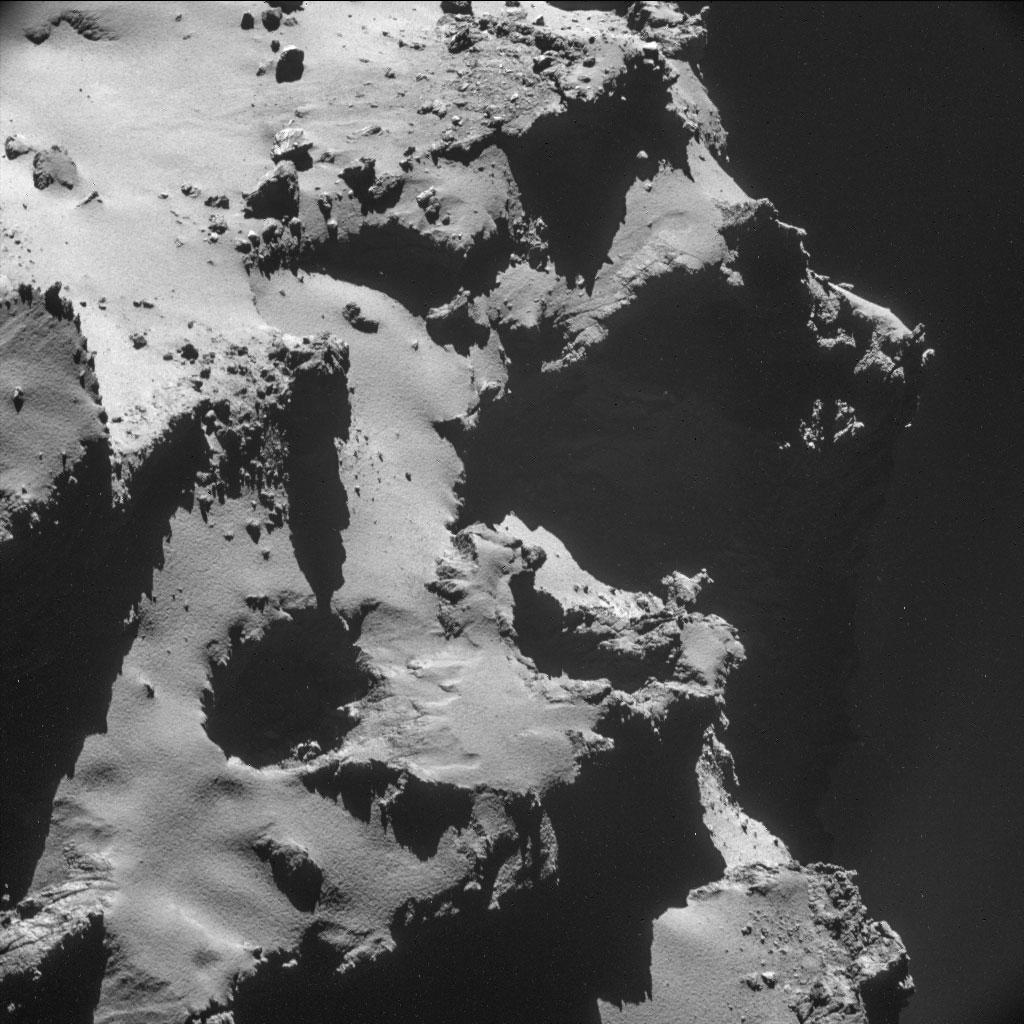Rosseta: a primeira aterrissagem de uma máquina humana sobre um cometa 13