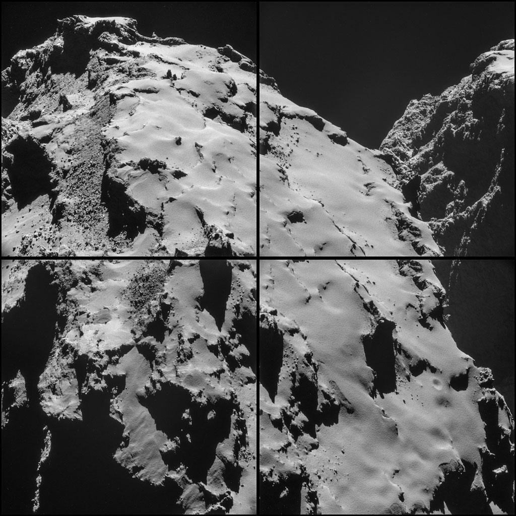 Rosseta: a primeira aterrissagem de uma m�quina humana sobre um cometa 15