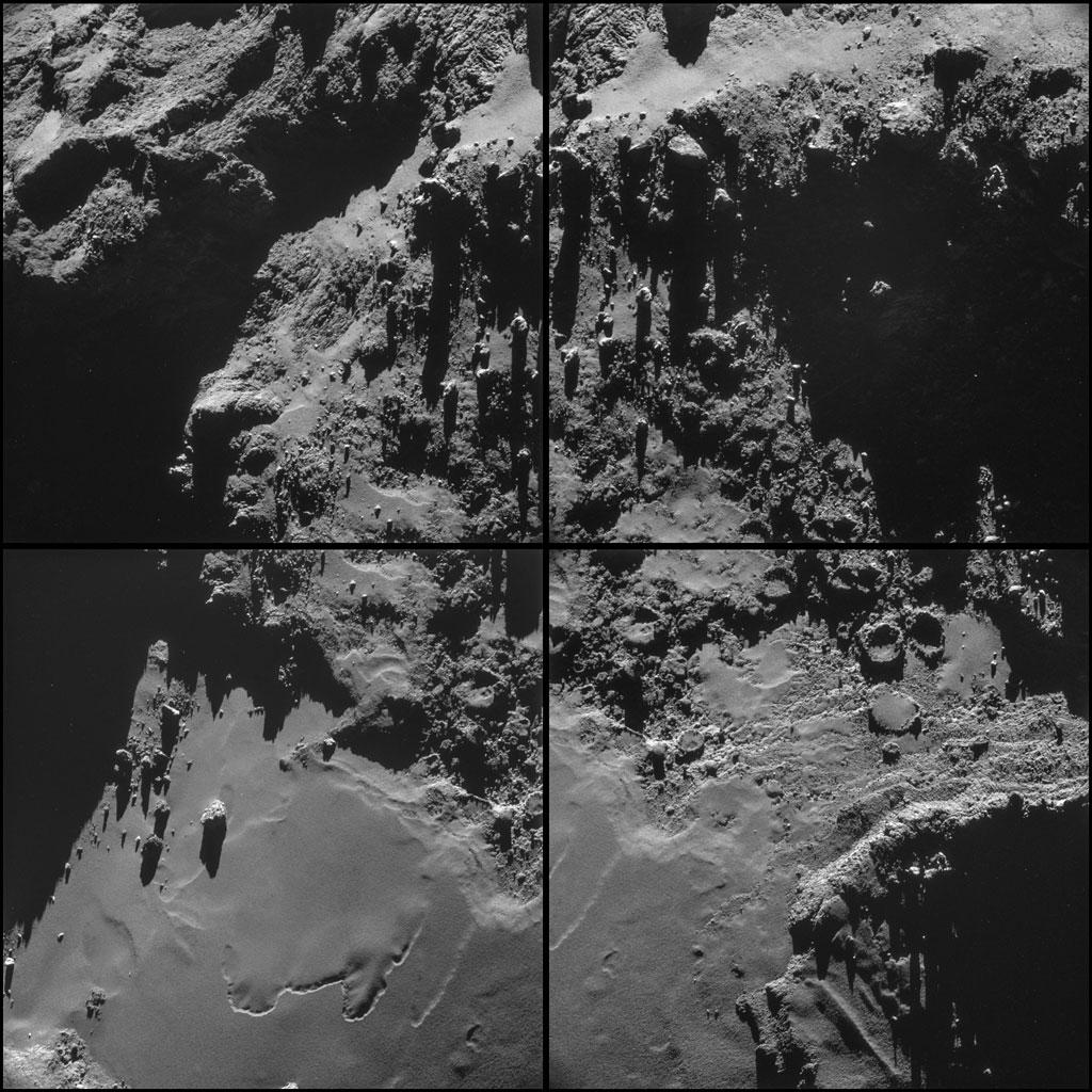 Rosseta: a primeira aterrissagem de uma máquina humana sobre um cometa 16