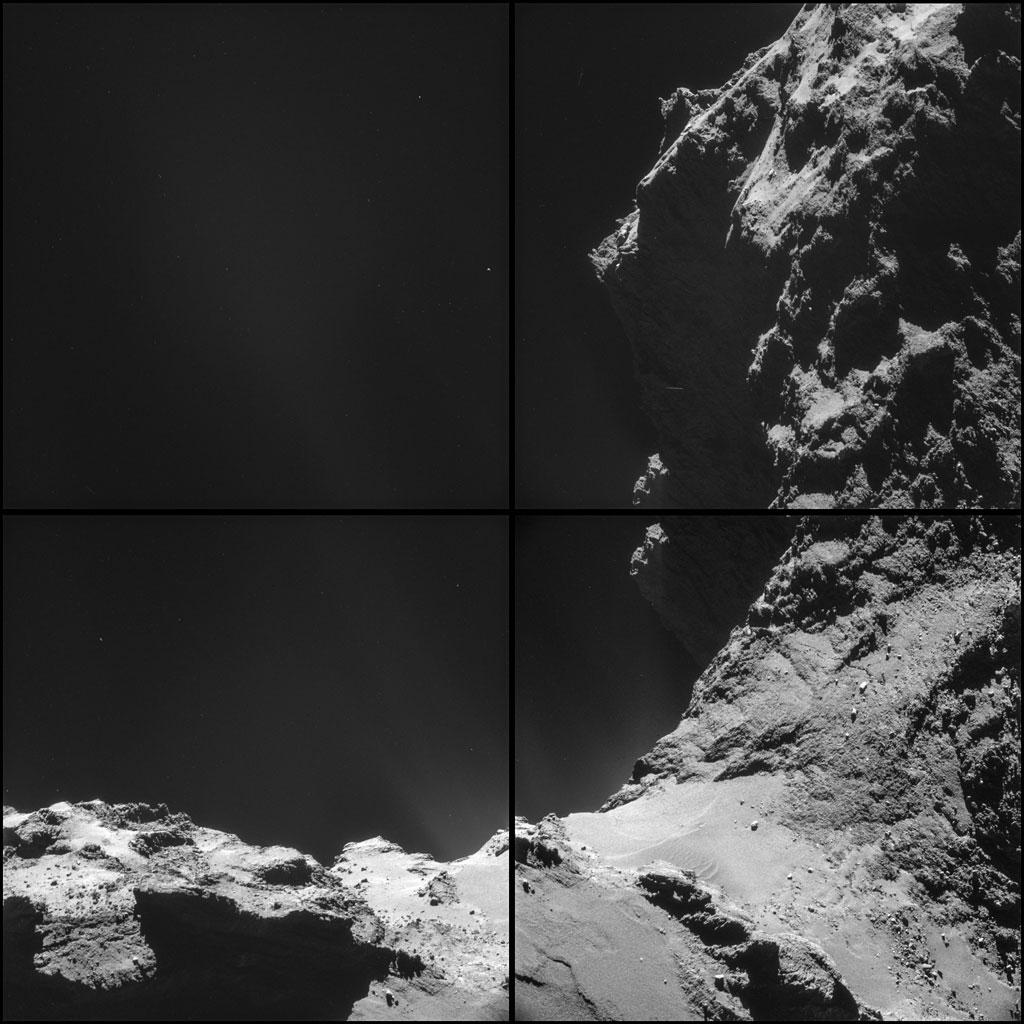Rosseta: a primeira aterrissagem de uma m�quina humana sobre um cometa 17