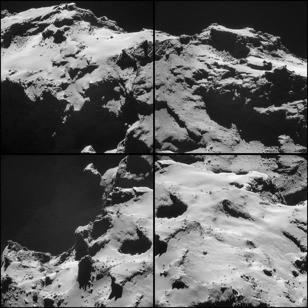 Rosseta: a primeira aterrissagem de uma máquina humana sobre um cometa 18