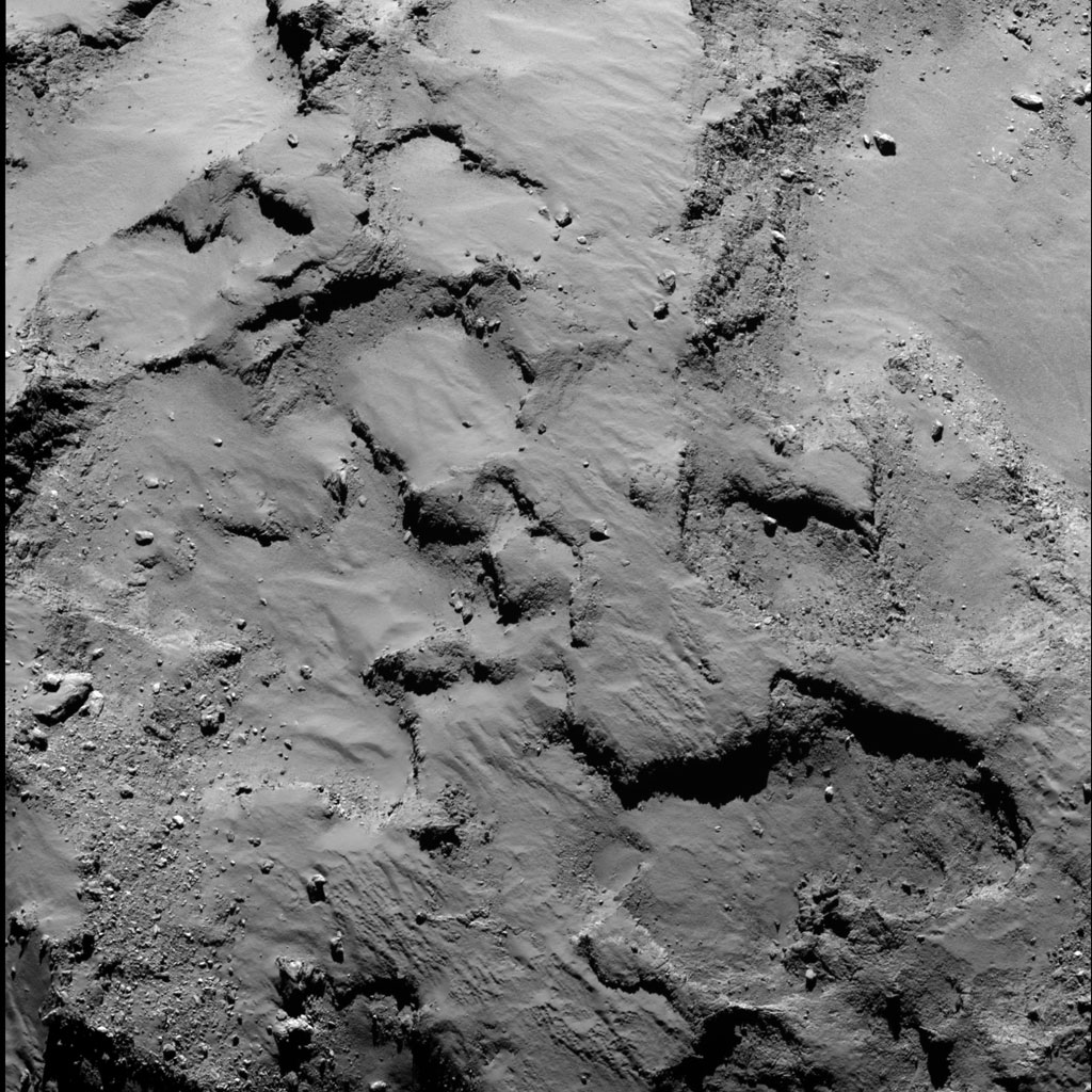 Rosseta: a primeira aterrissagem de uma máquina humana sobre um cometa 19