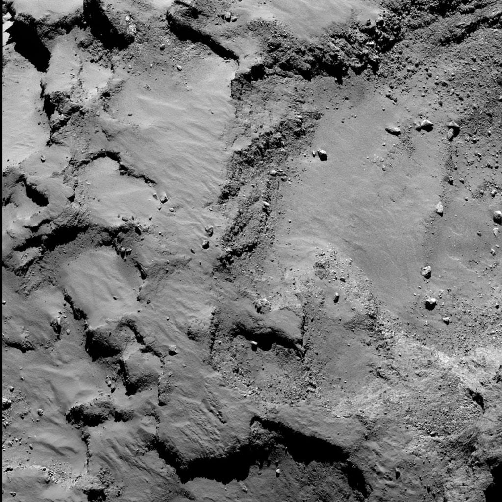 Rosseta: a primeira aterrissagem de uma máquina humana sobre um cometa 20