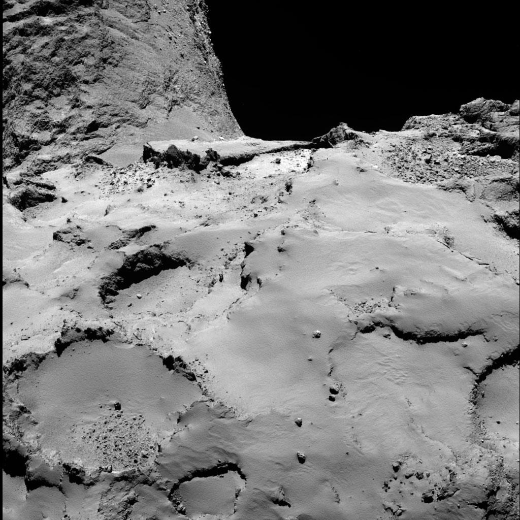 Rosseta: a primeira aterrissagem de uma máquina humana sobre um cometa 21